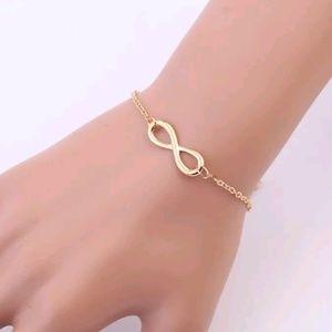 Jewelry - Infinity Bracelet | Gold | Forever | Always | Love